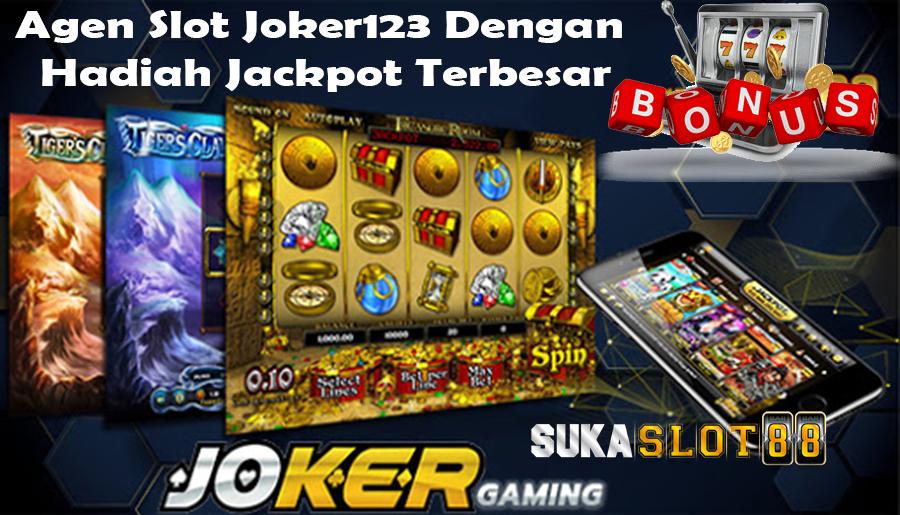 Agen Slot Joker123 Dengan Hadiah Jackpot Terbesar